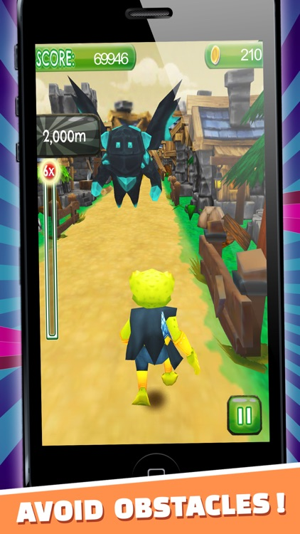 Knight Frog Run Havoc - PRO - Medieval Temple 3D Jump & Slide Toad Escape  by Daniel Shneor