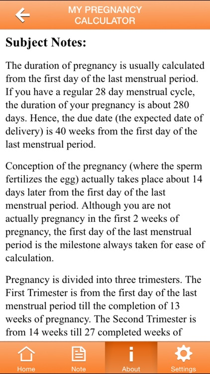 My Pregnancy Calculator screenshot-3