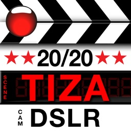 TIZA DSLR Slate® 20/20 Clapperboard