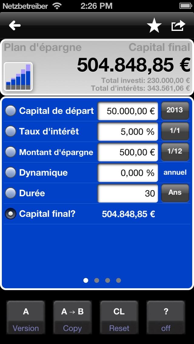 download Calculatrice de prêts et de l'épargne - MarkMoneyPro apps 3