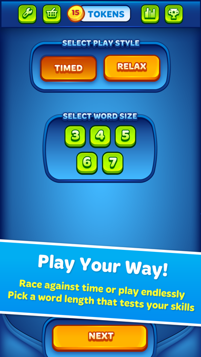 Word Morph! - Endless Word Puzzle Game screenshot two