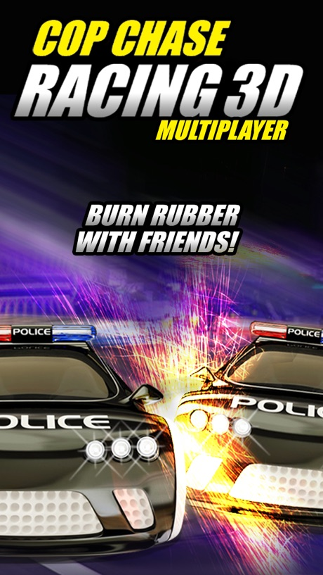 Cop Chase Car Race Multiplayer Edition 3D FREE – By Dead Cool Apps