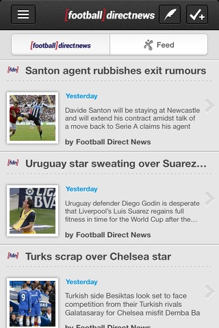 Football Direct News - Powered by fanatix screenshot 1