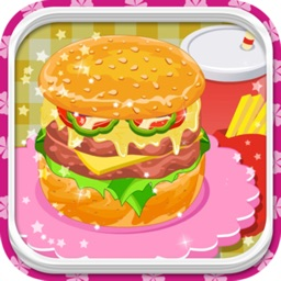 Burger Cooking Restaurant Maker Jam - Fast Food Match Game for Boys and Girls