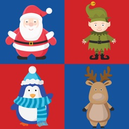 Match Christmas Party Characters - Free Holiday Challenging Games For Kids & Adults