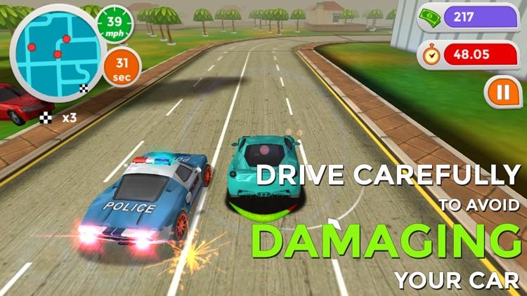Hotfoot - City Racer screenshot-3