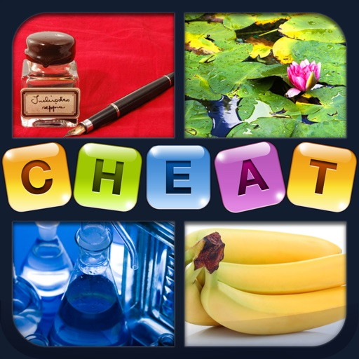 Cheat for 4 Pics 1 Word - all the answers