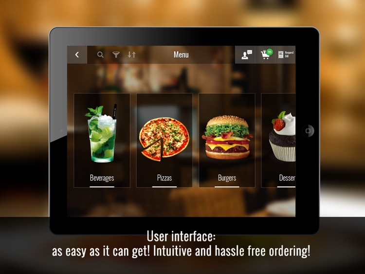 eMenu System – Close the Leaf, Open the Tab!