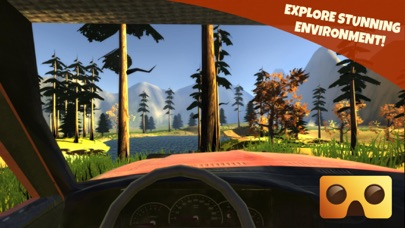 Off-Road Virtual Reality Game : VR Game For Google Cardboard screenshot three