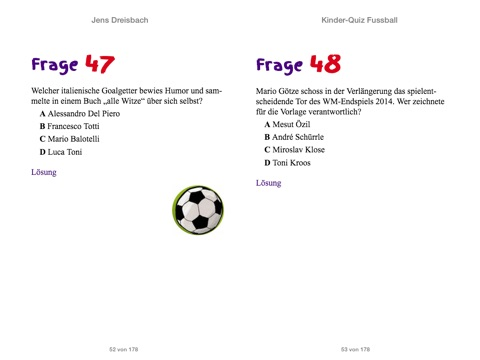 Kinder Quiz Fussball By Jens Dreisbach Komet Verlag On Apple Books