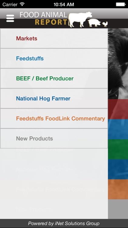 Food Animal Report