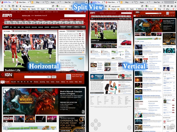 Super Prober Web Browser Free - Full Screen Desktop Tabbed Fast Browser with Page Thumbnails screenshot-3