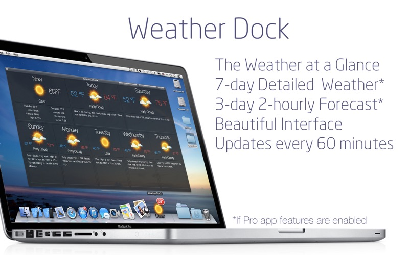 Weather Dock: Desktop forecast Screenshot