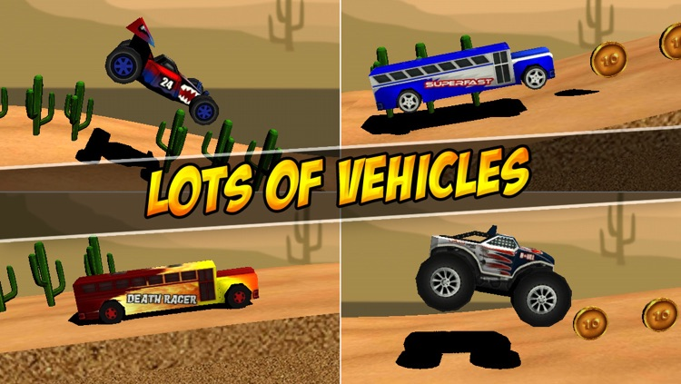 Ultimate 3D Extreme Monster Trucks Hill Climbing Game