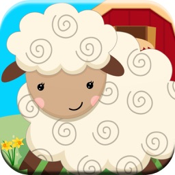 Farm Animals For Toddlers Sounds & Puzzle Game For Children