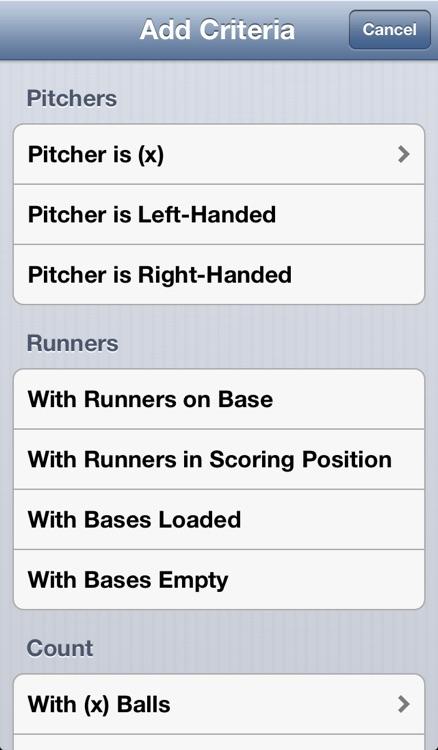 Baseball Stats Pro screenshot-3