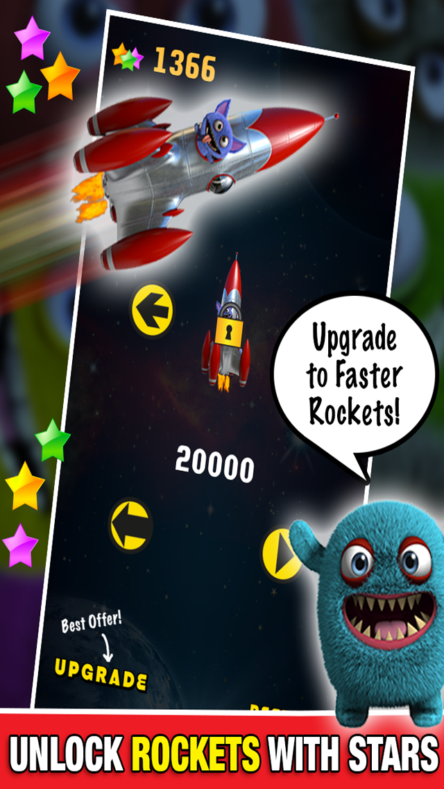 Monster in Space Multiplayer : Chase Race Alien Game PRO - By Dead Cool Appsのおすすめ画像4