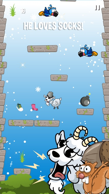 Crazy Goat Jump 2 - Top action mega funny game! screenshot-4