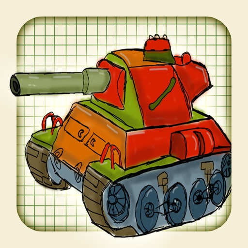 A Doodle Tanks Defence - Free Strategy Game icon