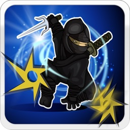 Ninja Throwing Star Game - Challenging Maze Splats Adventure