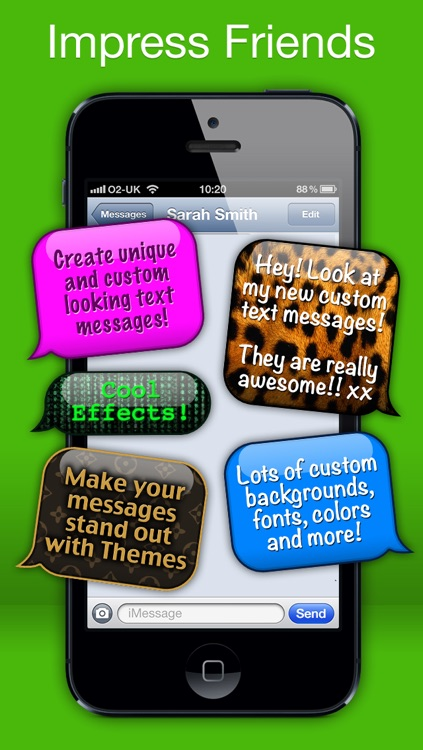 Message Styler - Color messages for iMessage and MMS + Emoji screenshot-2