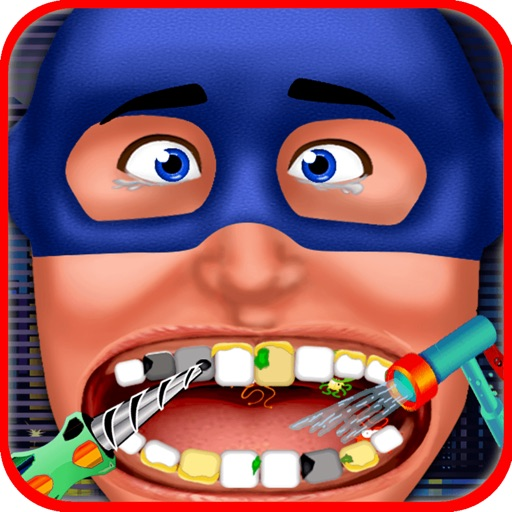 Super Hero Dentist - Little Tongue And Throat X-Ray Doctor Game For Kids iOS App