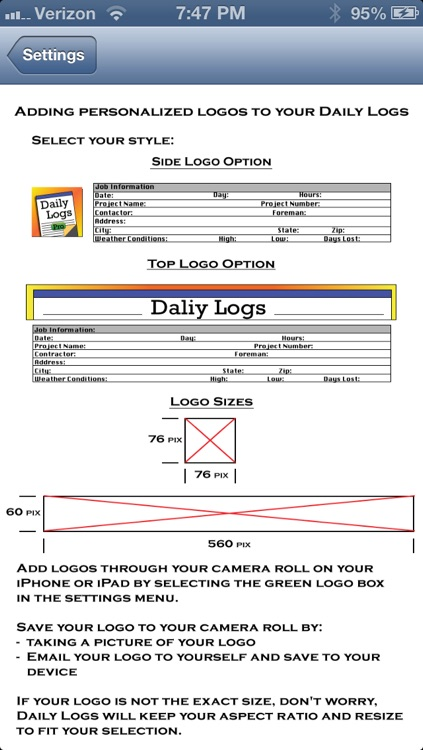Daily Logs screenshot-4