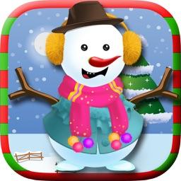 Christmas Snowman Maker & Dressup Salon
