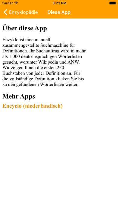 Enzyklopädie (DE) screenshot four
