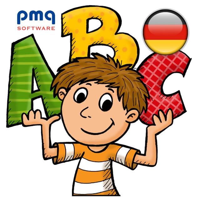 abc buchstaben lernen das deutsche alphabet f r kinder im app store. Black Bedroom Furniture Sets. Home Design Ideas