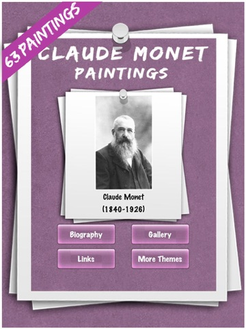 Claude Monet-ipad-0