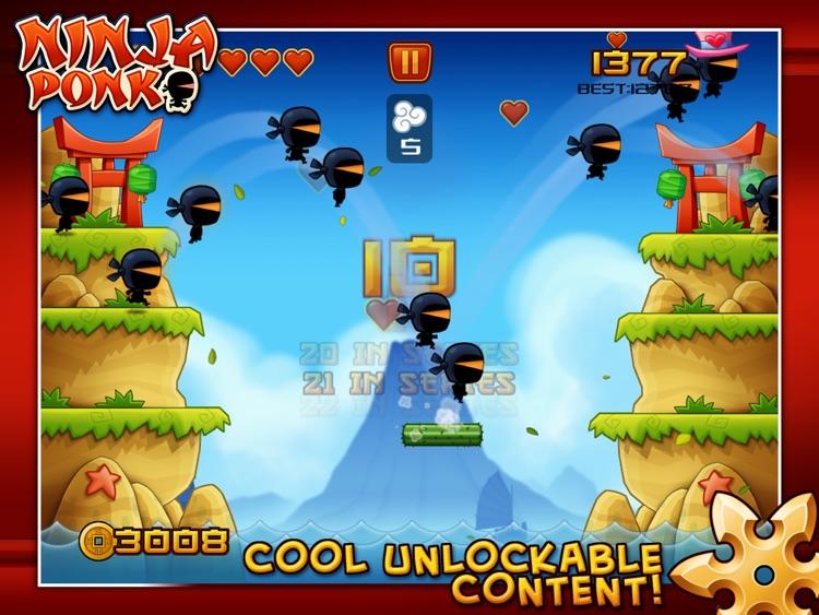 Ninja Ponk HD screenshot-4