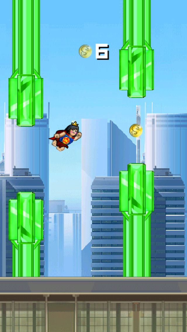 Super Flappy Justice League- Play Free Comic Hero Edition-1