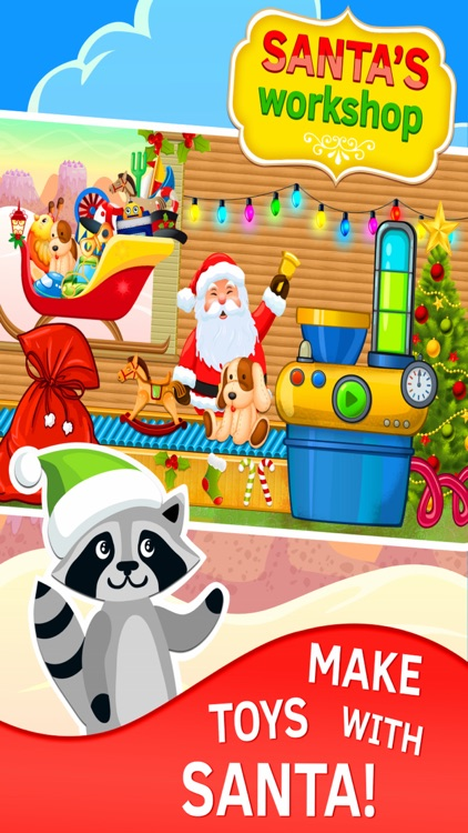 Santas Workshop Christmas games free for kids