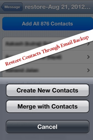 Contacts Backup & Transfer - Sync, copy and export your