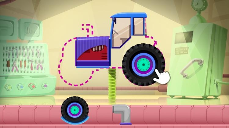 Truck Builder - Driving Simulator Games For Kids