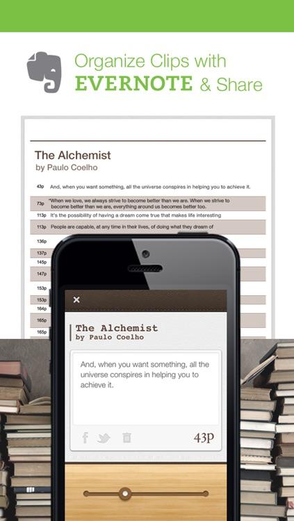 ClipBook - BookMarker & Sentence Collector screenshot-4