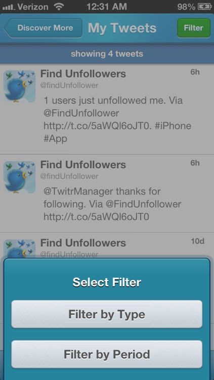 My Account Manager For Twitter screenshot-3
