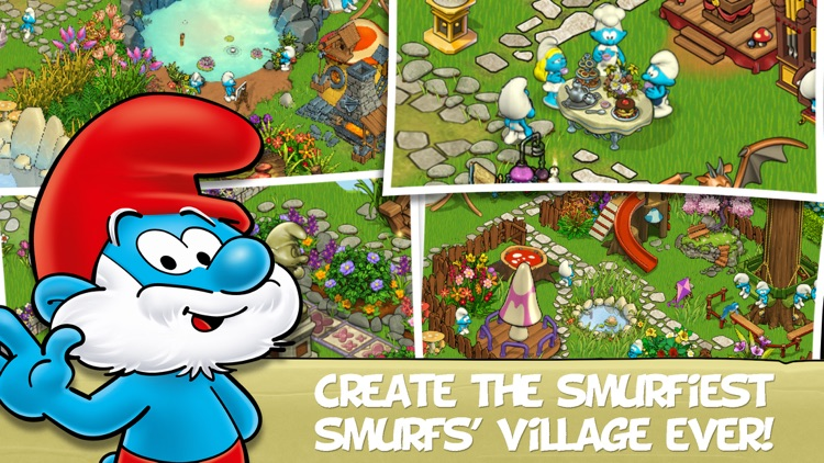 Smurfs' Village and the Magical Meadow screenshot-0