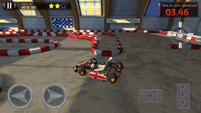 go kart games 3D Go Kart Parking PRO   Full High Speed Racer Version on the App