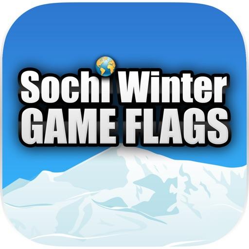 Зимниe Олимпийские Игры в Сочи - Угадай Флаги Стран-Участниц