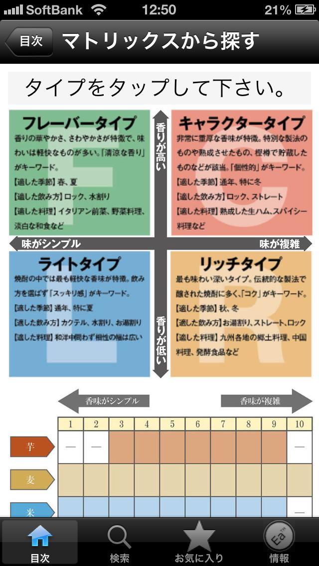 焼酎手帳 ScreenShot2