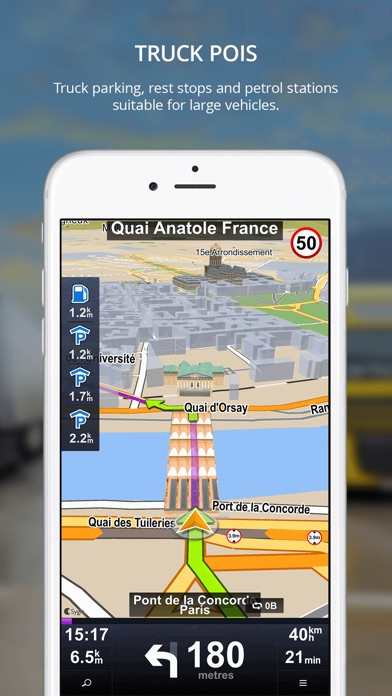 Screenshot #4 for Sygic Truck GPS Navigation