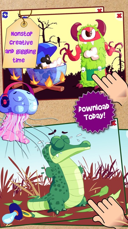 Animals Flip and Mix - ABC Reading Games for Preschool and Kindergarten Kids