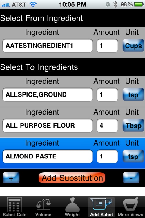 Culinary Calculator for smartphone screenshot-2