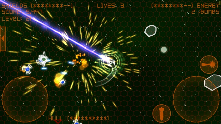 Alien Space Retro screenshot-4