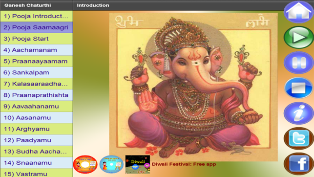 Ganesh Chaturthi Vinayaka Chavithi on the App Store