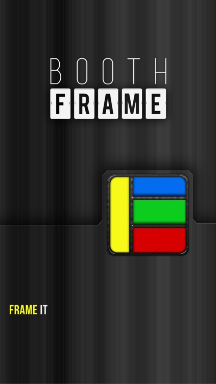 Booth Frame Free - for Facebook, Instagram, or Photo Library w/ Camera + Collage Editing Effects