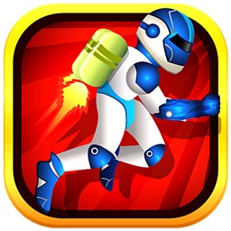 Agent Airborne Boom - Jetpack Hero Avoids Laser and Save the World