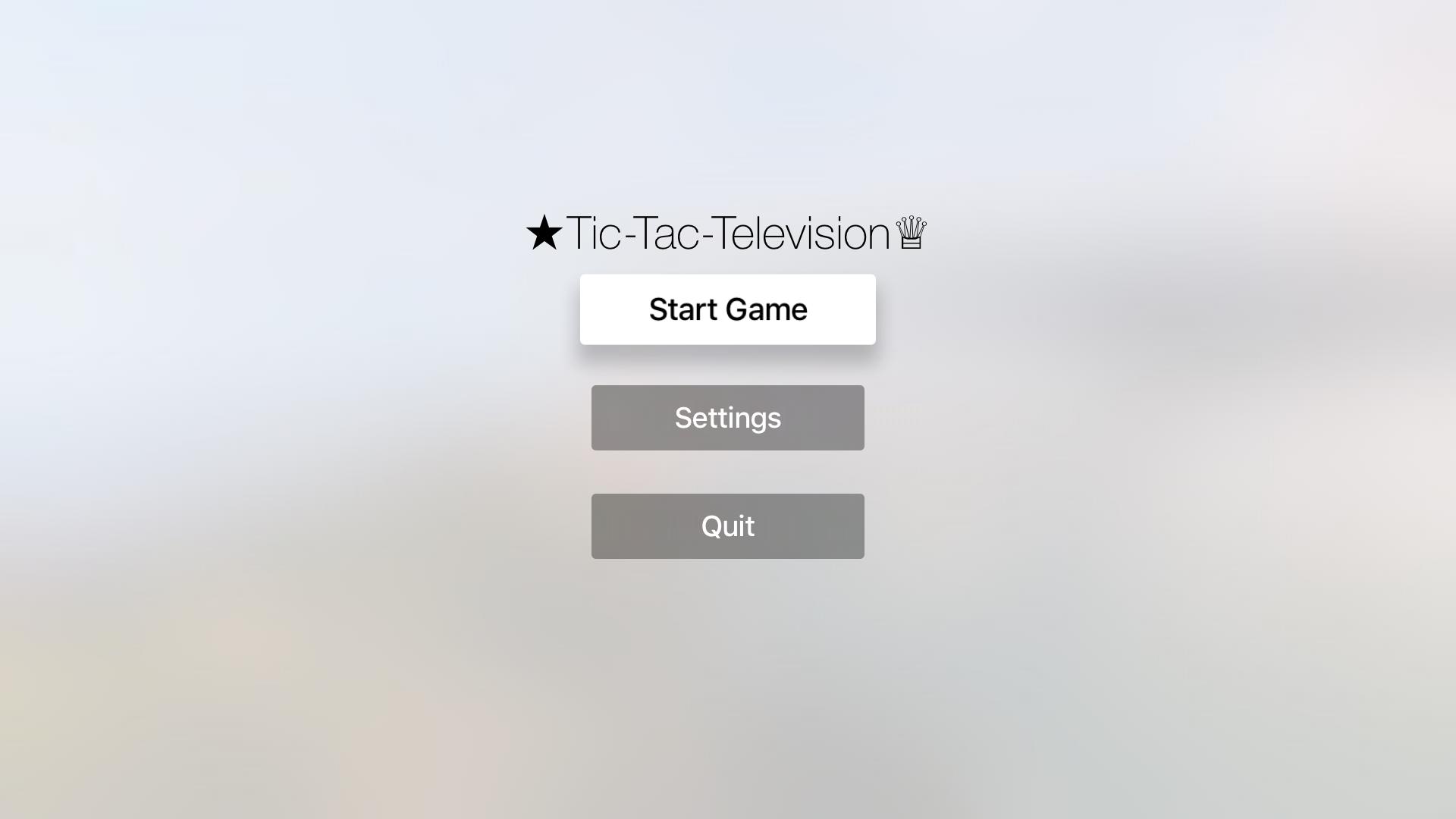 Tic-Tac-Television screenshot 1